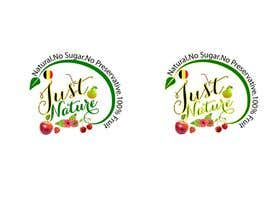 "winkeltriple tarafından Design a logo for our fruit juice brand: ""Nature Jus't"" için no 126"