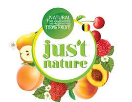 "dilpora tarafından Design a logo for our fruit juice brand: ""Nature Jus't"" için no 33"