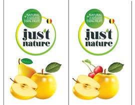 "dilpora tarafından Design a logo for our fruit juice brand: ""Nature Jus't"" için no 94"