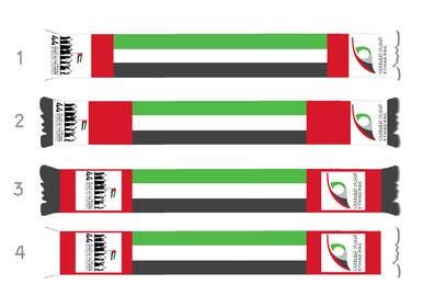 #5 untuk Design UAE National Day Scarf oleh PyramidsGraphic