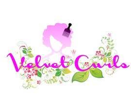 desislavsl tarafından Velvet Curls logo için no 11