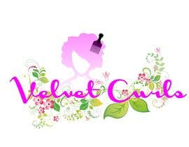 #11 untuk Velvet Curls logo oleh desislavsl
