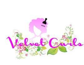 desislavsl tarafından Velvet Curls logo için no 16