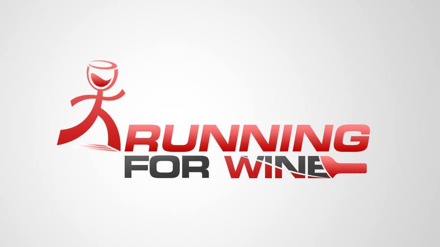 Bài tham dự cuộc thi #                                        22                                      cho                                         Design a Logo for Runnin for Wine