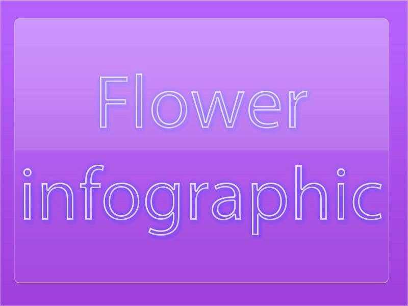 Proposition n°12 du concours Flower infographic