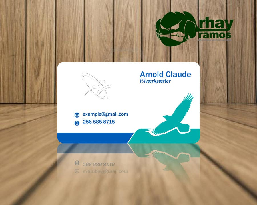#37 for Personal business card for it-entrepreneur by rhayramos11