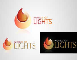 #27 for Need new logo for my company; World of Lights by jovanramonida