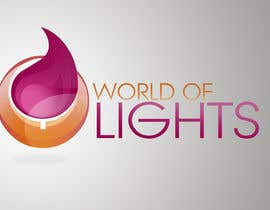 nº 42 pour Need new logo for my company; World of Lights par jovanramonida