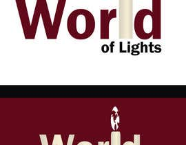 nº 40 pour Need new logo for my company; World of Lights par nsurani