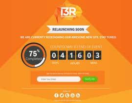 """smartyogeeraj tarafından Funky """"Relaunching Soon"""" Landing page için no 11"""