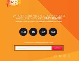 """Mohitbajaj252 tarafından Funky """"Relaunching Soon"""" Landing page için no 1"""