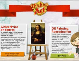 #8 para Design a Banner for Selling oil paintings and Posters por chithrarahul