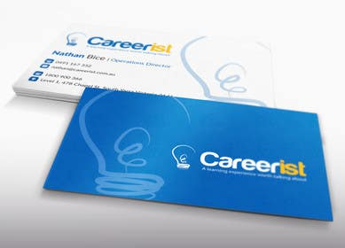 #32 untuk Design some Business Cards for Carrerist oleh LeeniDesigns