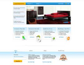 #6 for Design a Home Page Mockup for Website by helixnebula2010
