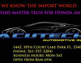 #29 for Design some Business Cards for acutech automotive inc using existing logo by azimbikrom