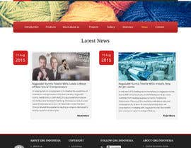 #19 for Corporate Microsite Redesign by thimsbell