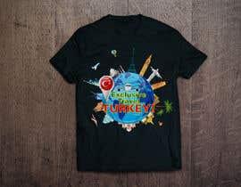 #53 untuk Travel concepted tshirt desings oleh aandrienov