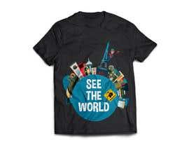 #3 untuk Travel concepted tshirt desings oleh aviva78