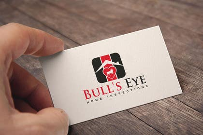 #63 untuk Design a Logo for Bull's Eye Home Inspections oleh RainBoow