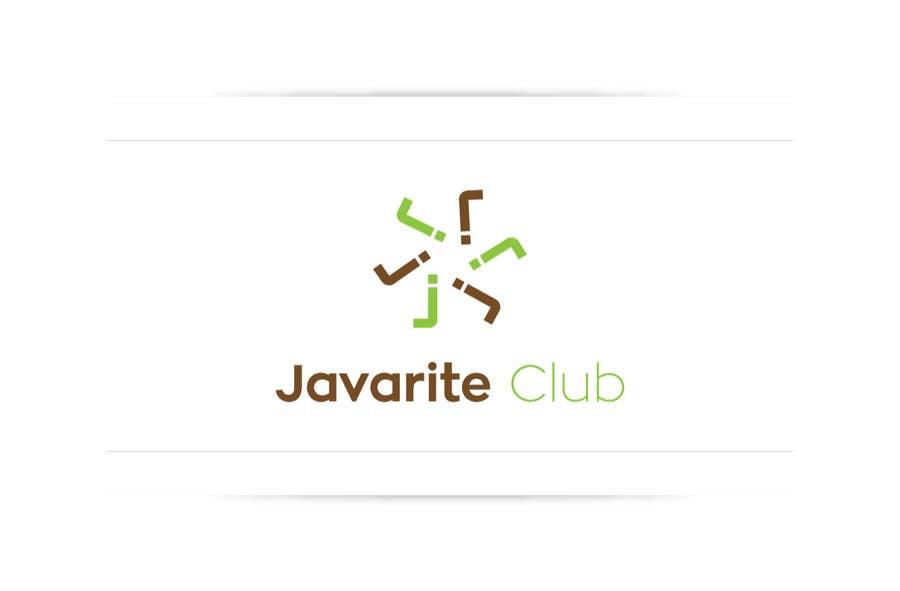 Penyertaan Peraduan #122 untuk Design a Logo for the Javarite Club
