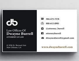 sami24x7 tarafından Design some Business Cards for an attorney için no 4
