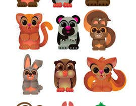"#35 untuk Produce 12 small illustrations of ""Kawaii""-style Animals oleh kofaber"