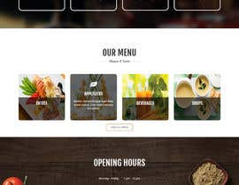 #16 untuk Design a Website Mockup for a  Chinese restaurant oleh dhanvarshini