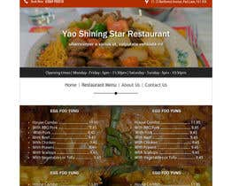 #10 untuk Design a Website Mockup for a  Chinese restaurant oleh vw8176980vw