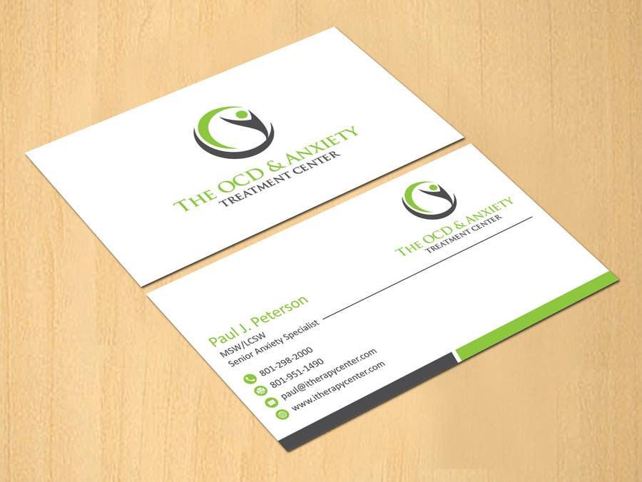 Penyertaan Peraduan #70 untuk Business Card Design