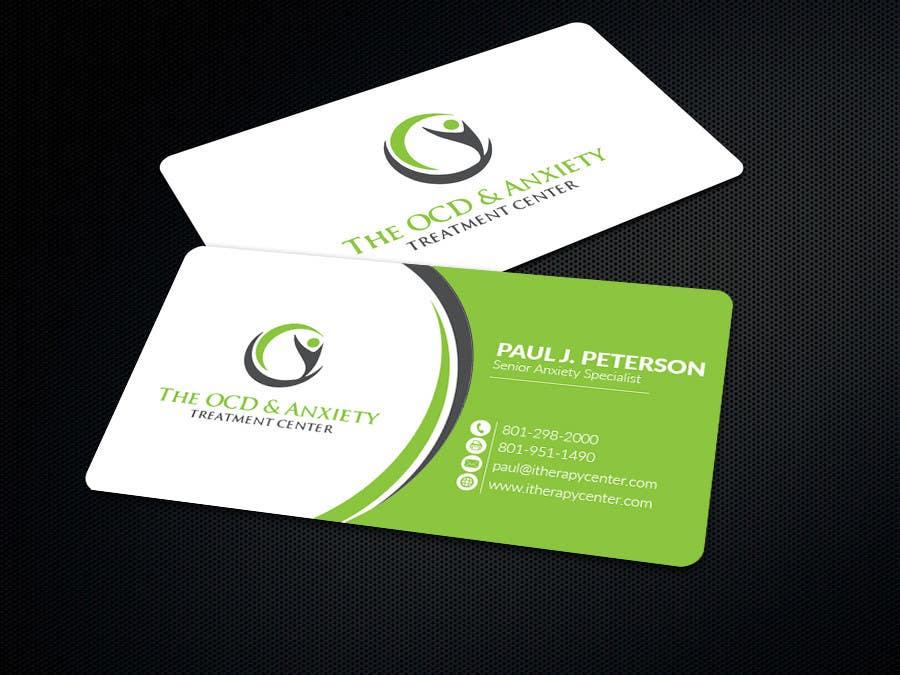 Penyertaan Peraduan #74 untuk Business Card Design