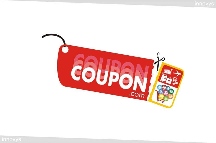 Penyertaan Peraduan #235 untuk Logo Design for For a Coupons website