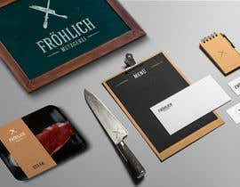 #32 untuk Professional logo for a butcher's shop - winner has chance of designing brochure, business cards, etc. oleh ClaudiaBarros