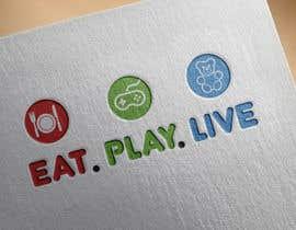 arieskhan tarafından Design a Logo for EAT.PLAY.LIVE için no 11