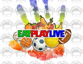 GeekyGrafix tarafından Design a Logo for EAT.PLAY.LIVE için no 16