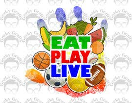 GeekyGrafix tarafından Design a Logo for EAT.PLAY.LIVE için no 21