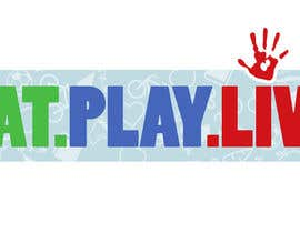 #8 untuk Design a Logo for EAT.PLAY.LIVE oleh willardivino