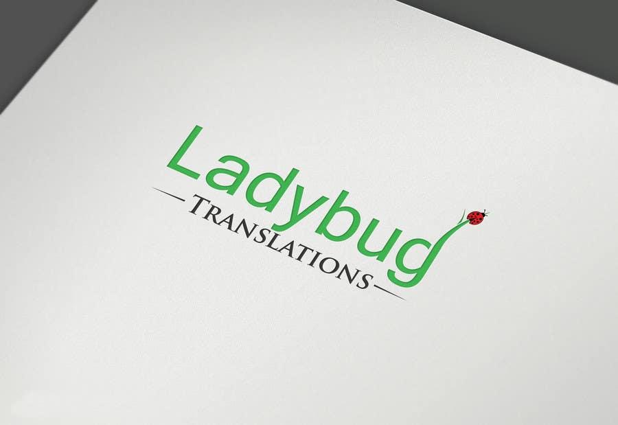 Entry #6 by georgeecstazy for Ladybug Translations needs Logo ...