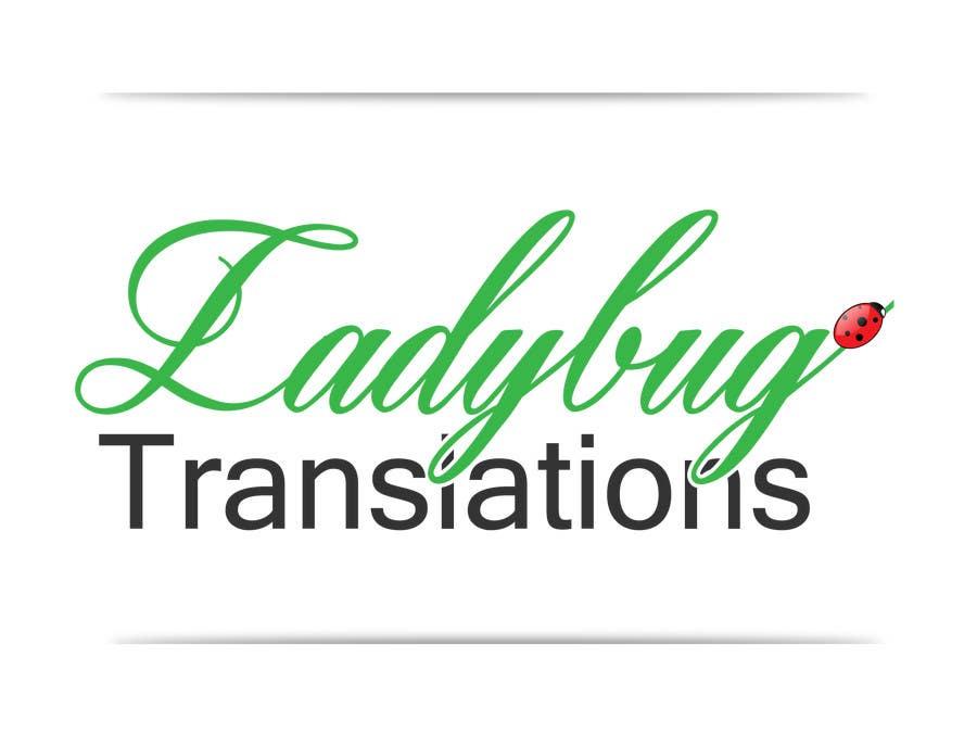 Entry #18 by georgeecstazy for Ladybug Translations needs Logo ...