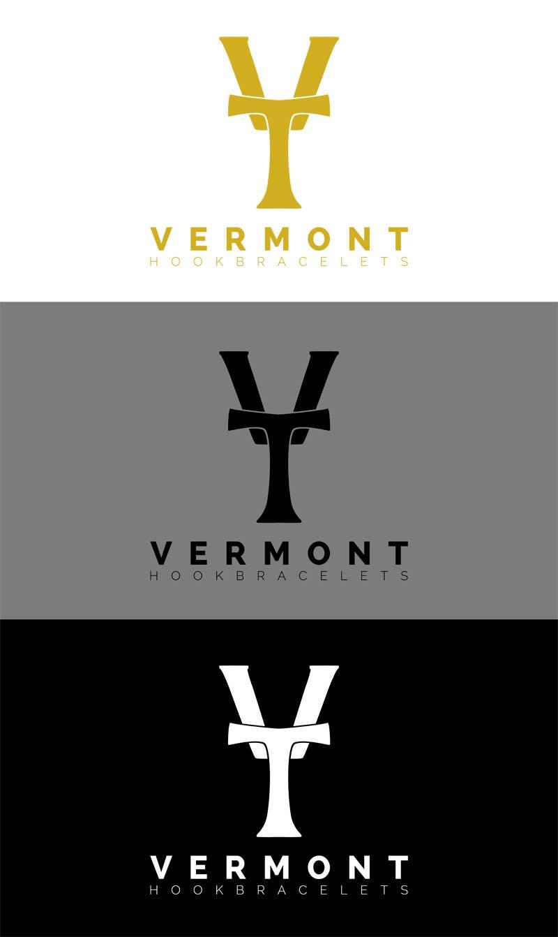 Bài tham dự cuộc thi #                                        15                                      cho                                         Design a Logo for Vermont Hook Bracelets