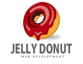 "#55 untuk Design a Logo for web development company called  ""Jelly Donut"" oleh vivekdaneapen"