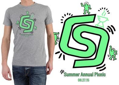 ezaz09 tarafından Design a T-Shirt for Company BBQ için no 49