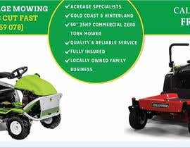 #14 untuk Design an Advertisement for a Lawn Mowing Business oleh Technolinks