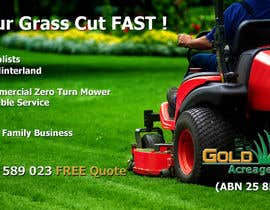 #7 untuk Design an Advertisement for a Lawn Mowing Business oleh logexxpert