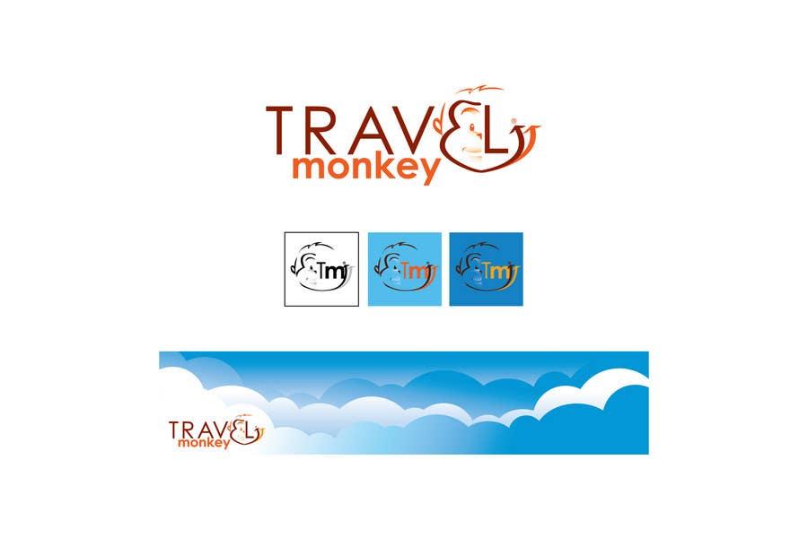 Contest Entry #183 for Logo Design for travelmonkey