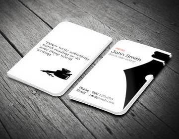 LeeniDesigns tarafından Design a Business Card for a Professional Writer. için no 35