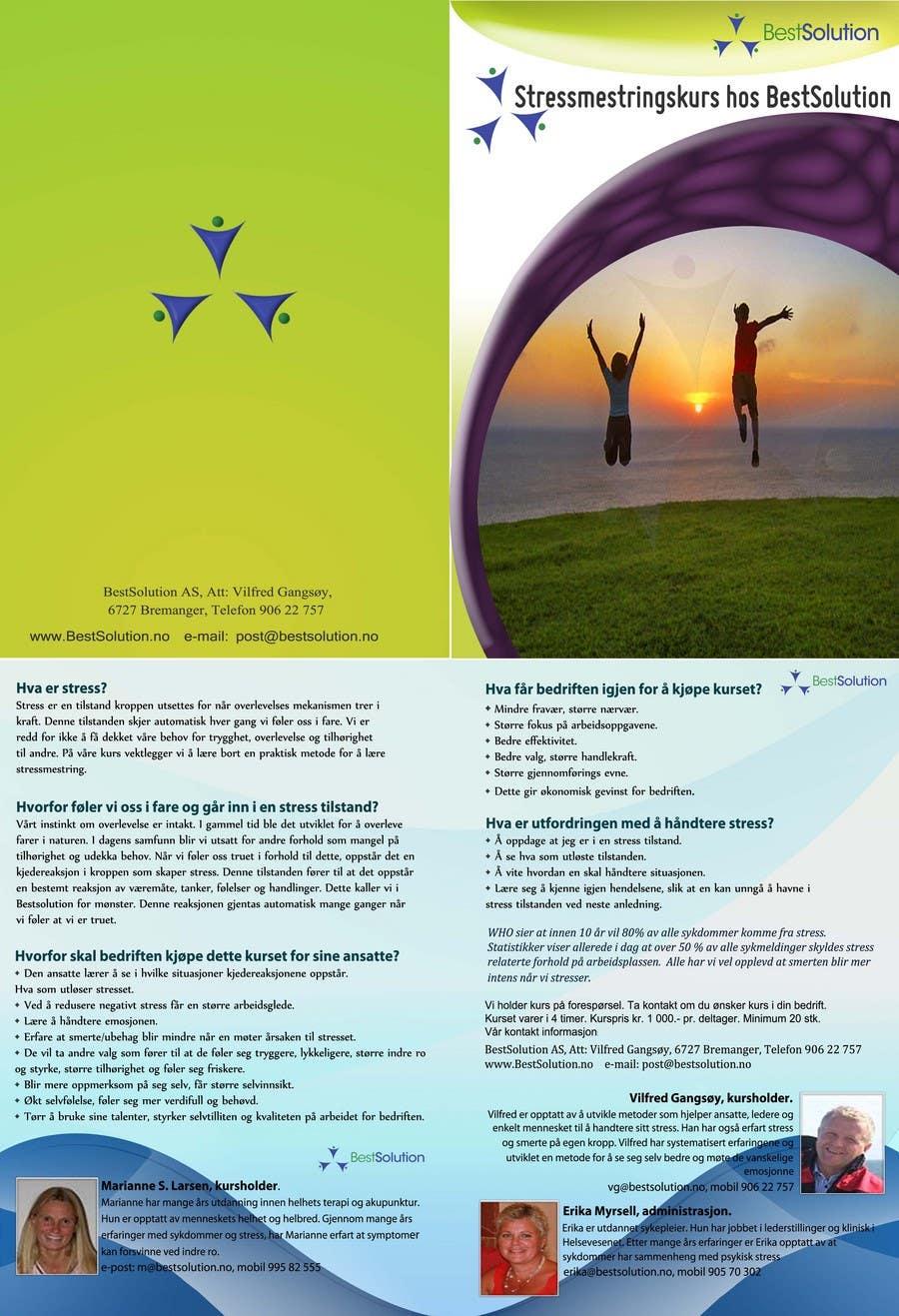 Inscrição nº                                         9                                      do Concurso para                                         Brochure Design for BestSoluton.no