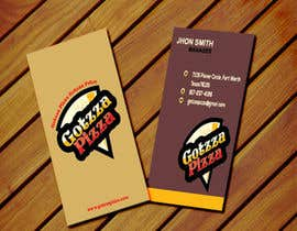 #36 untuk Design some Business Cards for Gotzza Pizza oleh alinafig016