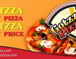 #16 untuk Design a Banner for GOTZZA PIZZA oleh designerart94