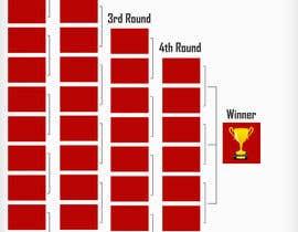 #5 untuk Design two brackets 3-Point Contest & Dunk Contest Bracket oleh parikhan4i