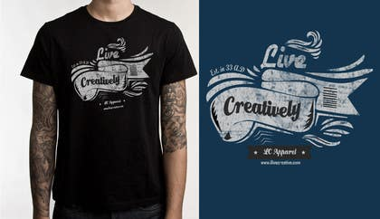 ezaz09 tarafından Design a T-Shirt for LC Apparel için no 7